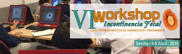 VI WorkShop de Incontinencia Fecal